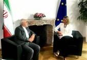 تور برجامی| آغاز گفتگوهای وزیر خارجه در بروکسل؛ ظریف با موگرینی دیدار کرد +فیلم