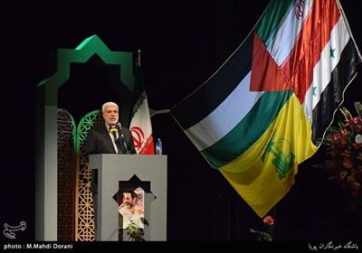 سخنرانی ابومهدی مهندس فرمانده حشد الشعبی عراق