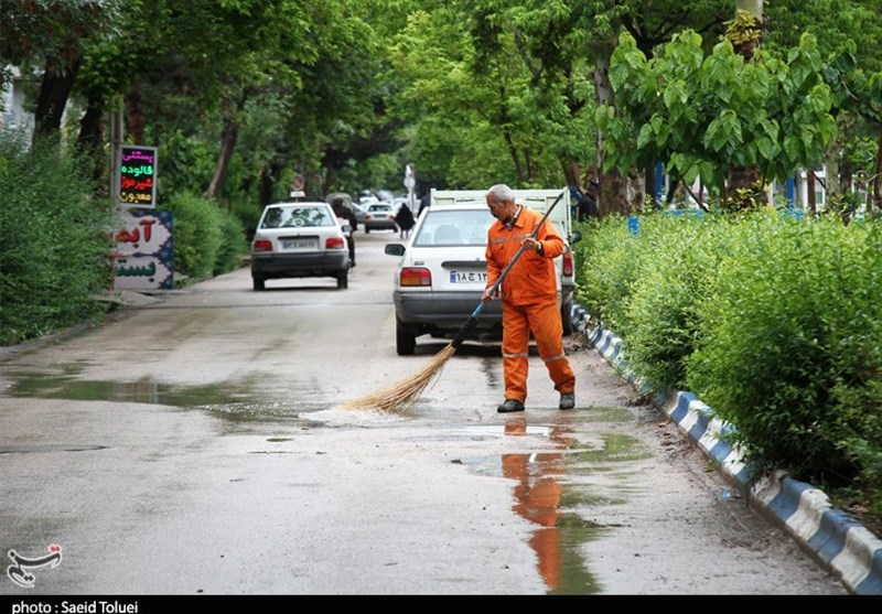 پیش بینی بارش باران برای 10 استان کشور طی 3 روز آینده