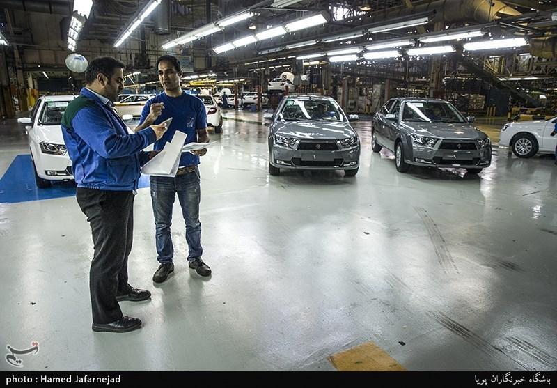 افزایش تولید روزانه ایران خودرو به 2 هزار دستگاه تا آخر آذر