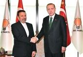 واعظی در دیدار با اردوغان: محکومیت اقدام انتقال سفارت آمریکا به قدس ضروری است