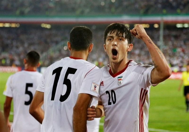 تیم ملی ایران در رده سی و ششم