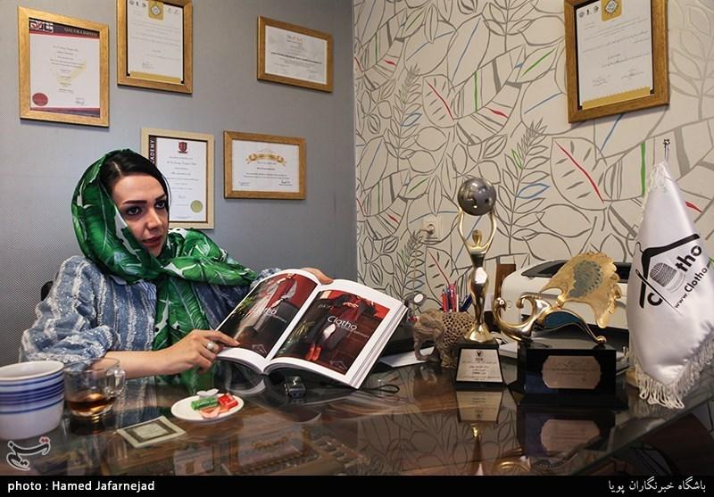 گفت وگو با غزال بهمنی کارآفرین تولیدی مانتو و لباس کِلوتو