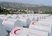 یاسوج| برپایی 690 چادر در اردوگاههای مناطق زلزلهزده کهگیلویه و بویراحمد به روایت تصویر