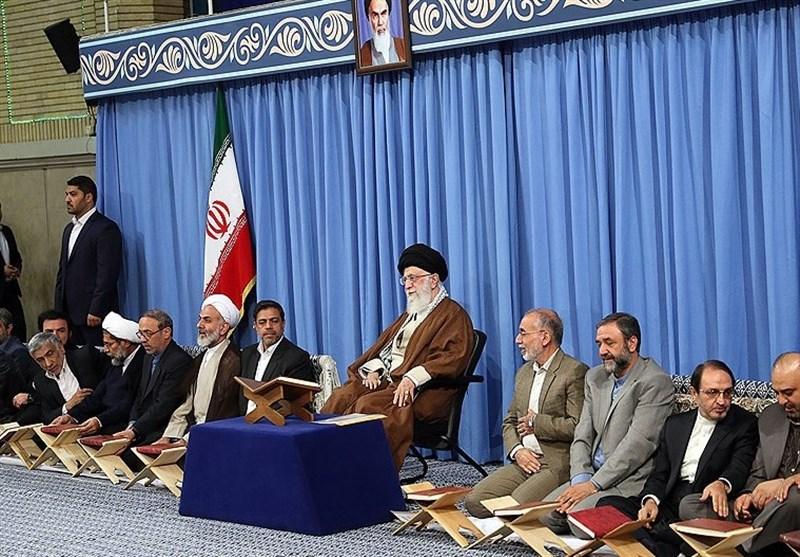 گزارش تسنیم از دیدار جامعه قرآنی با رهبر انقلاب + فیلم