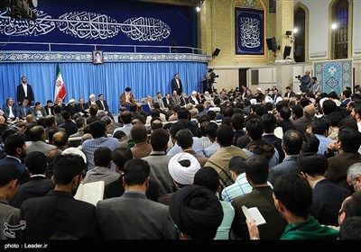 Ayatollah Khamenei Attends Assembly of Quran Reciters