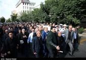 مازندران| پیکر مرحوم علیزاده در زادگاهش تشییع شد