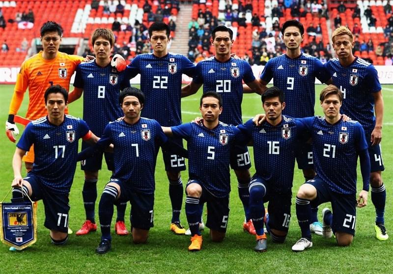 اعلام لیست 27 نفره ژاپن برای جام جهانی 2018