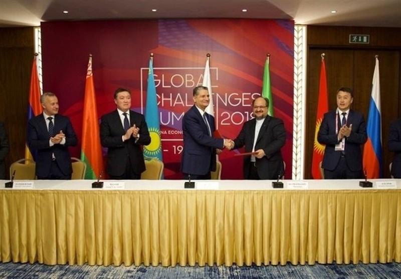Iran, Eurasia Ink Preferential Trade Deal