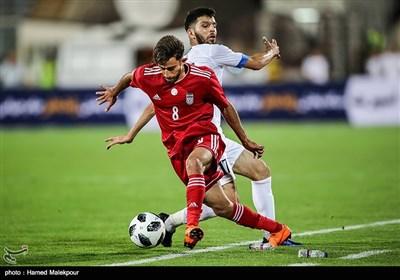 دیدار تیمهای ملی فوتبال ایران و ازبکستان