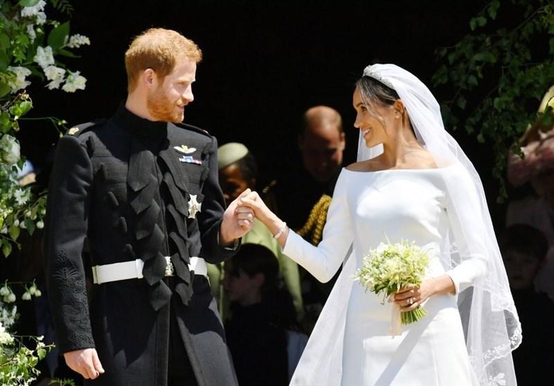 گروه و مراسم عروسی نوه ملکه انگلیس بیش از 42 میلیون دلار آب خورد ...