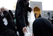 مشهدا توزیع 3000000 بسته افطاری سبک در صفوف نماز جماعت حرم رضوی