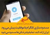 فتوتیتر| مسدودسازی تلگرام با موفقیت پیش میرود