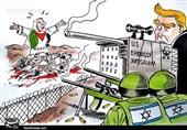 امریکہ فلسطینیوں کے خون بہانے میں برابر کا شریک