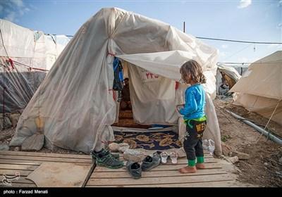 زندگی روزمره مردم زلزله زده سر پل ذهاب - کرمانشاه