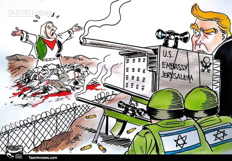 Israeli Forces Kill 60 Palestinians in Protests as US Embassy Opens in Al-Quds