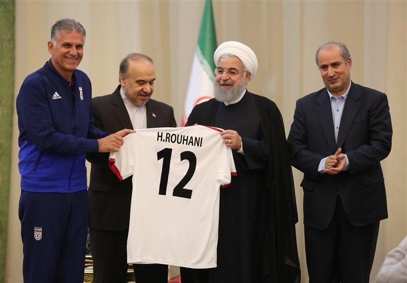 تقدیر رئیس جمهور از عملکرد تیم ملی در جام جهانی 2018