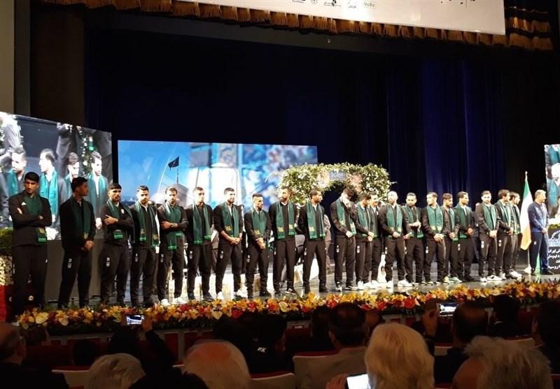 سورپرایز شهرداد برای کارلوس در شب بدرقه تیم ملی فوتبال
