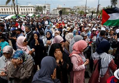 تظاهرات مغربی ها برای آزادی بازداشت شدگان اعتراضات