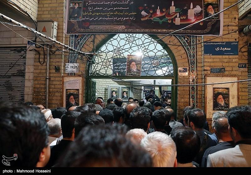 حاشیههای مراسم مرحوم سیدمهدی طباطبایی| برخورد سرد خطیب مشهور تهران با حسین فریدون