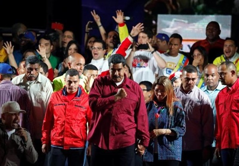 Venezuela's Maduro Election Win Slammed As Sham