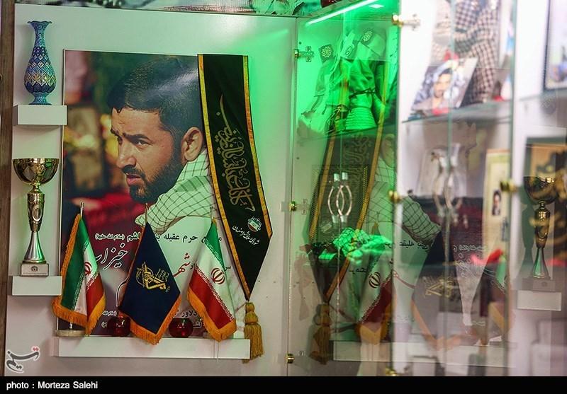 منزل شهید مدافع حرم مسلم خیزآب - اصفهان