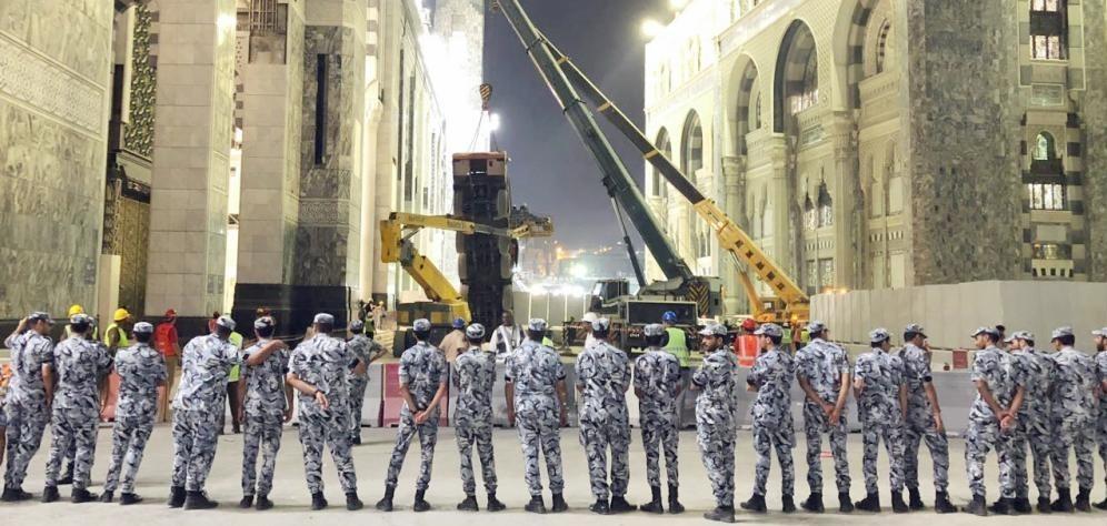 Crane Collapses Again in Grand Mosque in Saudi Arabia's Mecca (+Photos)