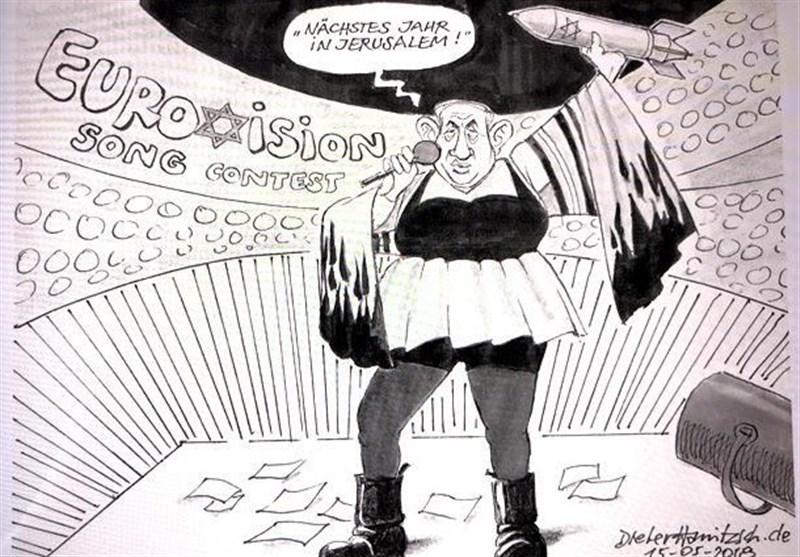 Netanyahu'yu Çizen Alman Karikatürist Kovuldu