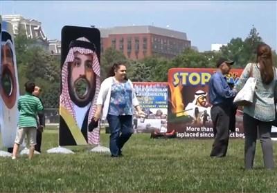 """بن سلمان اور بن زائد پر """"جوتے مار"""" مقابلہ + ویڈیو"""
