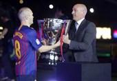 اینیستا: پوشیدن پیراهن بارسلونا برایم مایه افتخار بود