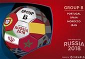 جام جهانی 2018| روز هفتم؛ ایران روی خط سرنوشت گروه B/ «صعودی»های گروه A مشخص میشوند؟