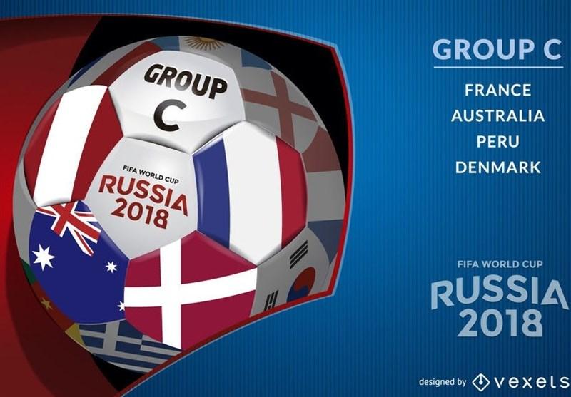 بررسی گروه C جام جهانی 2018| ازدحام خوشبختی فرانسه در گروهی متعادل