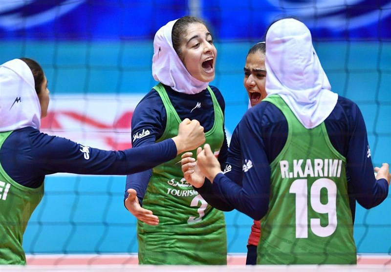 Iran into Asian Women U-17 Volleyball C'ship Quarters