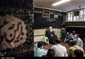 دیدار خبرنگاران خبرگزاری تسنیم با آیت الله مرتضی تهرانی