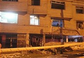 وقوع انفجار مهیب در بزرگراه اشرفی اصفهانی/تخریب کامل ساختمان 3 طبقه + تصاویر