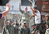 Syria Army, Police Celebrate Recapturing All of Damascus (+Photos)