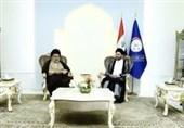 الحکیم والصدر یؤکدان على تکثیف اللقاءات لتشکیل الاغلبیة الوطنیة