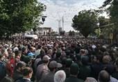 آذربایجان غربی| مراسم تشییع پیکر مجاهد نستوه آذربایجان در ارومیه+فیلم