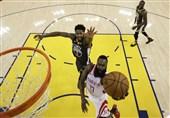 فینال کنفرانس غرب NBA|وریرز در خانه مغلوب راکتس شد + عکس