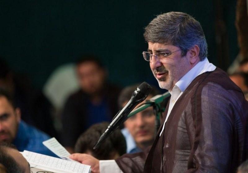 مناجاتخوانی محمدرضا طاهری در شب ششم ماه مبارک رمضان