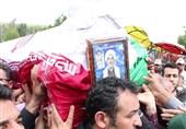 ارومیه| پیکر حجتالاسلام حسنی در یادمان شهید باکری آرام گرفت+فیلم