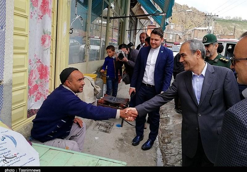 تبریز| بازدید استاندار آذربایجان شرقی از روستای گردشگری کندوان به روایت تصویر