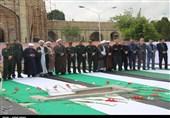 ارومیه| پیکر مطهر دلیرمرد آذربایجان با حضور مردم به خاک سپرده شد+تصاویر