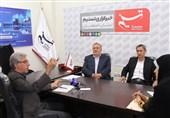 اصفهان  میزگرد بررسی بازار ساختوساز مسکن در دفتر تسنیم اصفهان برگزار شد