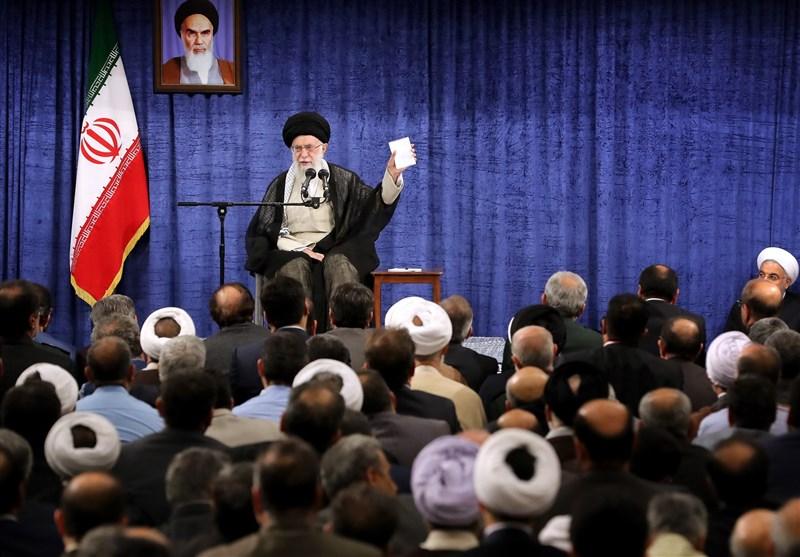 40 نکته مهم از سخنان امام خامنهای درباره برجام، آمریکا، مذاکره با اروپا و اقتصاد