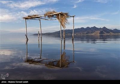 افزایش نسبی آب دریاچه ارومیه