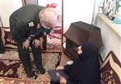 رشت  دیدار سردار عبداللهپور با خانواده شهدای گیلانی فتح خرمشهر+فیلم