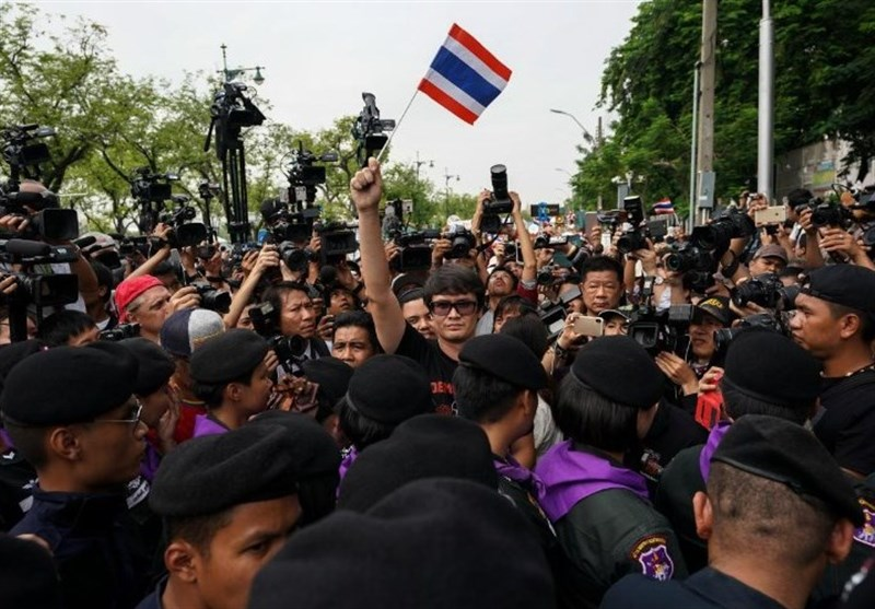 Thai Court Frees Leaders of Coup Anniversary Protest on Bail