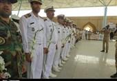 اهواز  غبارروبی گلزار شهدا به یاد شهدای سرافراز آزادسازی خرمشهر