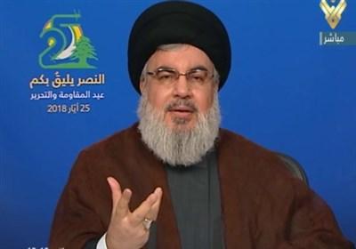 نشان مقاومت سیدحسن نصراللہ کاخطاب بمناسبت یوم مقاومت و آزادی